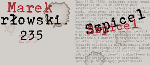 """""""Szpicel"""" w produkcji – pod patronatem Kinoamatorskie.pl"""
