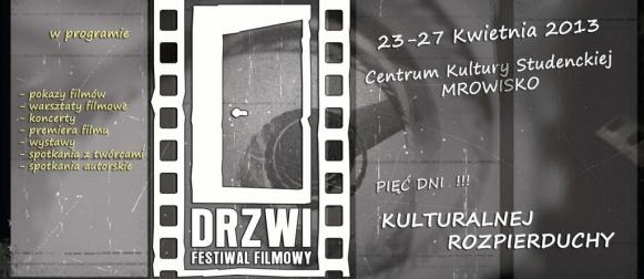 """Warsztaty filmowe w ramach Festiwalu Filmowego """"Drzwi"""""""