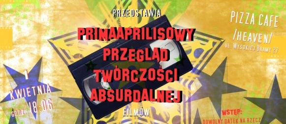 Primaaprilisowy Przegląd Twórczości Absurdalnej w Lidzbarku