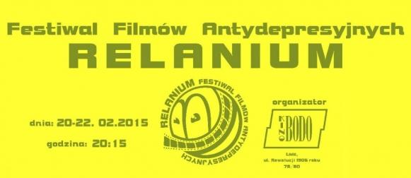 Festiwal Filmów Antydepresyjnych RELANIUM 2015