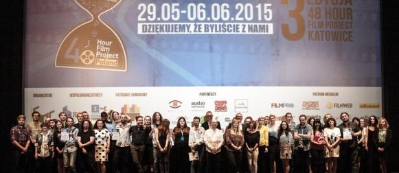 Wyniki 3. edycji 48 Hour Film Project Katowice 2015