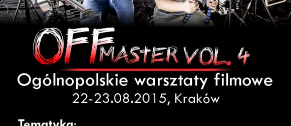 Wakacyjny OFFmaster vol.4 – nadciąga nowa edycja warsztatów!
