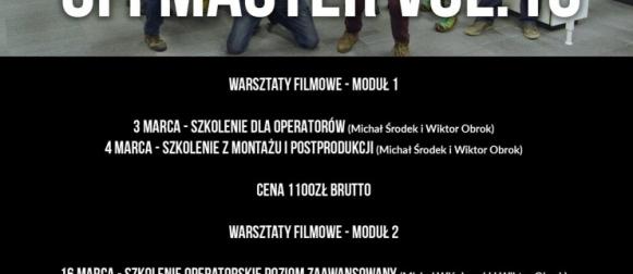 Warsztaty filmowe OFFMASTER vol. 10