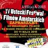 XV Ustecki Festiwal Filmów Amatorskich 2018