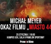 """Prawie Kino NZS UEK   Pokaz filmu """"Miasto 44"""""""