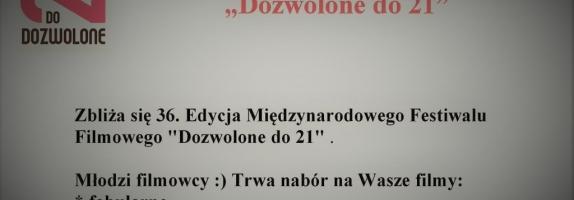 """6 dni zostało na zgłoszenia do """"Dozwolone do 21/UpTo21″"""