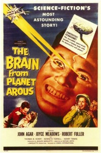 brain from planet arous poster