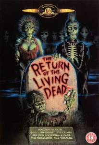 return of the living dead poster