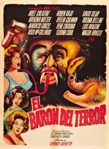 el baron del terror poster 1