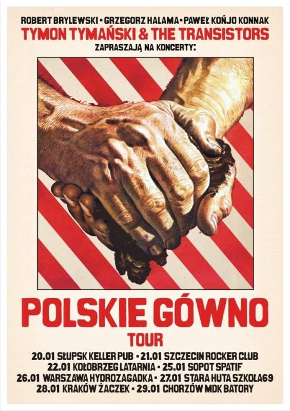 Polskie gówno plakat