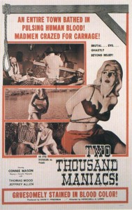 two thousand maniacs poster