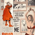 Color Me Blood Red poster