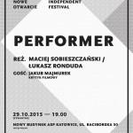 Performer - plakat-1