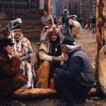 Jim Jarmusch na planie Truposza